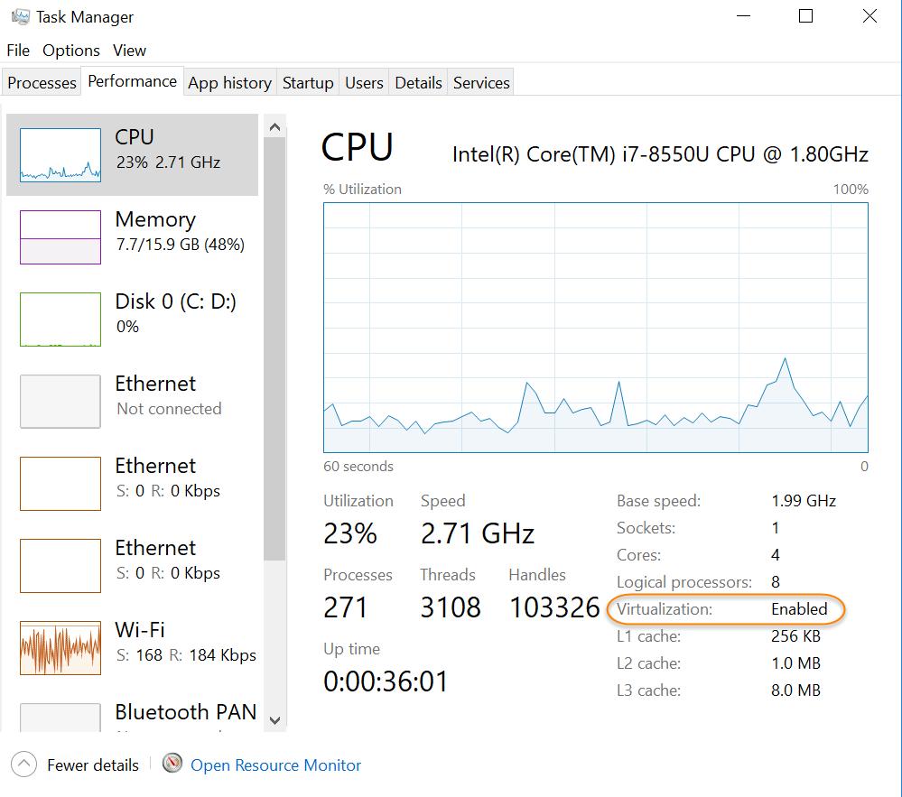 نصب داکر روی ویندوز 3